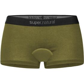 super.natural Unstoppable Boxer imbottiti Donna, verde oliva